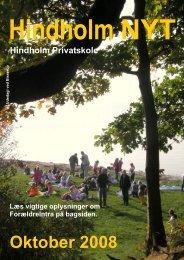 oktober 2008 - Net.pub - Hindholm Privatskole
