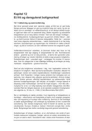Kapitel 12 Et frit og dereguleret boligmarked - Finansministeriet