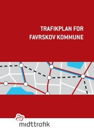 TRAFIKPLAN FOR FAvRsKOv KOMMUNE - Midttrafik