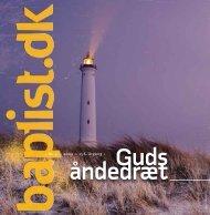 ‹ Nr. 5 ›‹ 2009 ›‹ 156. årgang › - Baptistkirken i Danmark