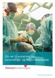 Din ret til erstatning for behandlings - Patientforsikringen