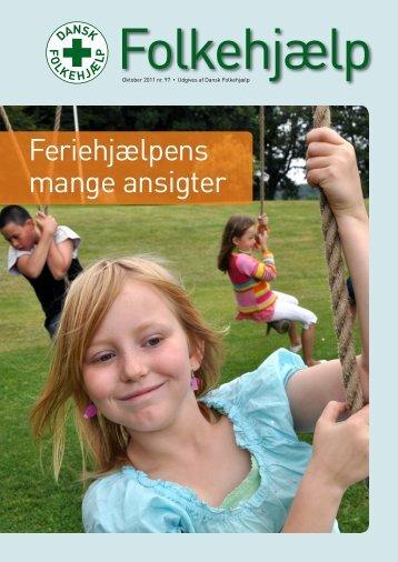 Feriehjælpens mange ansigter - Dansk Folkehjælp