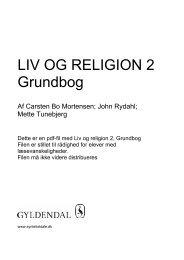 Grundbog LIV OG RELIGION 2 - Syntetisk tale