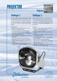 274159 Elthermo Projektør (c). - Elthermo Searchlight A/S