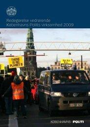 Redegørelse vedrørende Københavns Politis virksomhed 2009 ...