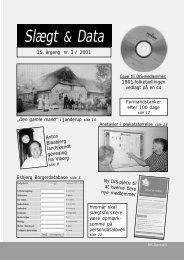 2001-3 slægt & data.pdf - DIS-Danmark