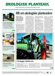 Temaavis, planteavl - Økologisk Landsforening