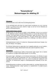 """Karamellerne"""" Beboermappe for afdeling 25 - Boligkontoret Aarhus"""