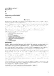 Den 26. august 2010 blev der i sag nr. 10/2009-S K ... - Revisornævnet