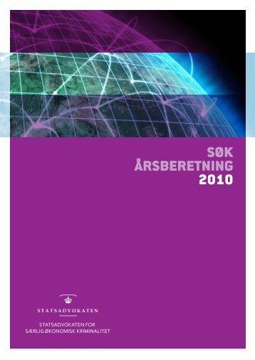 SØK årsberetning 2010 (1489.48K) - Politiets