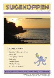 Sugekoppen nr. 3 - april/maj 2011 - Blæksprutterne