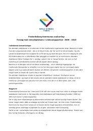 Læs evalueringen fra Frederiksberg Kommune - Lokale og ...