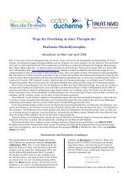 2008 Wege der Forschung - Duchenne Muskeldystrophie