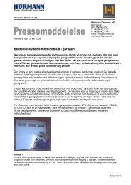 Download pressemeddelelsen (PDF) - Hoermann.dk