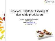Heidi Friis Hansen - Viffos