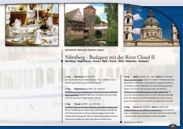 Nürnberg - Budapest mit der River Cloud II