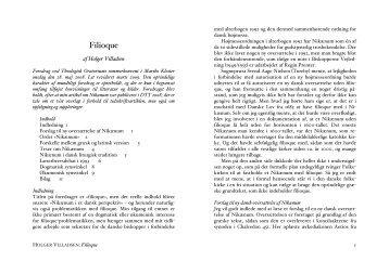 Filioque - Holger Villadsen