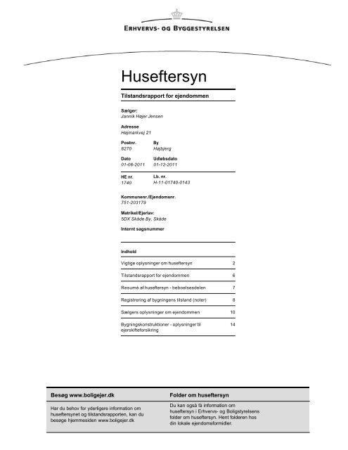 Huseftersyn - myestate.dk