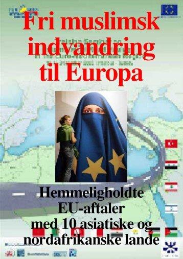 Fri muslimsk indvandring til Europa - Islaminfo.dk