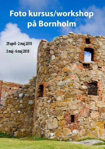 Foto kursus/workshop på Bornholm - Henrik Schurmann