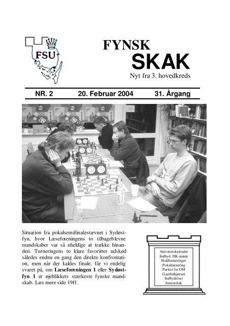 Nyt fra 3. hovedkreds NR. 2 20. Februar 2004 31. Årgang - DSU 3 ...