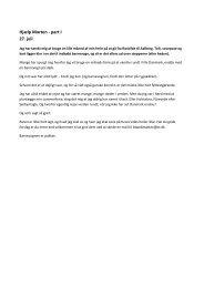 Hjælp Morten - part I 27. juli - mockingbird