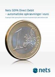 Nets SEPA Direct Debit – automatiske opkrævninger i euro