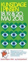 Se folderen med udstillingsstederne - Slagelse Kommune