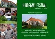 Download program - Hindsgavl Festival