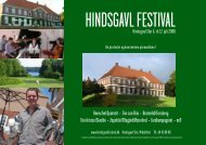 Download program - Hindsgavl Festival