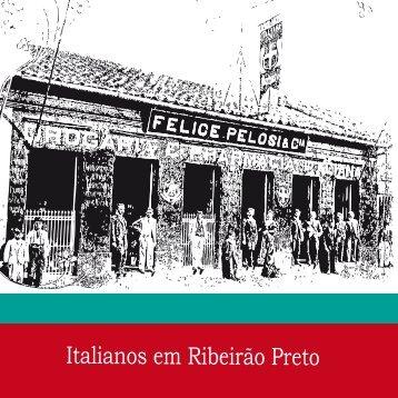 Italianos em Ribeirão Preto - Ribeirão Preto - Governo do Estado de ...