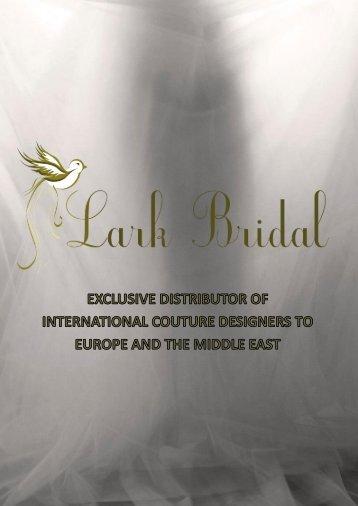 Download Full Brochure Here - Lark Bridal