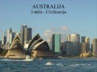 AUSTRALIJA 3 dalis - Civilizacija