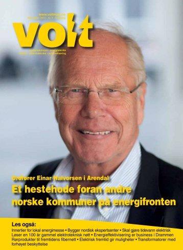 Et hestehode foran andre norske kommuner på energifronten - Volt