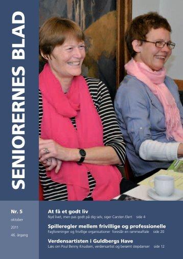 Seniorernes Blad nr. 5 2011 - Pensionisternes Samvirke