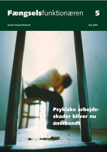 Fagblad 05/2004 - Fængselsforbundet