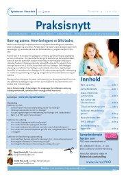 Praksisnytt nr. 4 - 2011 - Sykehuset i Vestfold