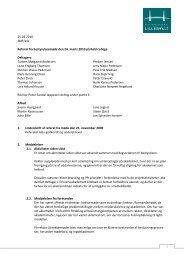 1 25.03.2010 JMP/ask Referat fra bestyrelsesmøde den 24. marts ...