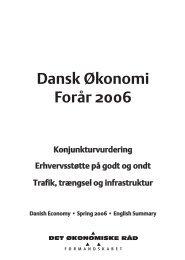 Dansk Økonomi Forår 2006 - De Økonomiske Råd