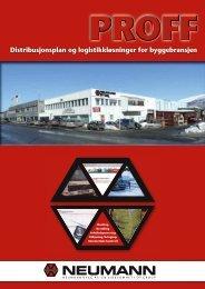 Distribusjonsplan og logistikkløsninger for ... - Neumann Bygg