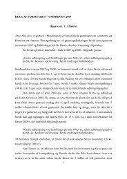DELE AF FORMUERET – OMPRØVEN 2009 ... - For Studerende