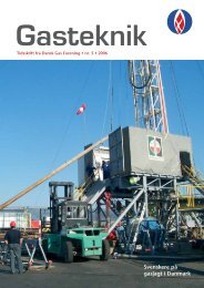 Gasteknik nr. 5, oktober 2006 [PDF] - Dansk Gas Forening