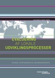 EVALUERING AF LOKALE UDVIKLINGSPROCESSER