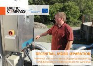 Decentral, mobil separation - LandbrugsInfo