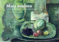 Handledning till Mat i konsten - Regionmuseet Kristianstad