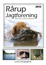 Ved at klikke her kan du se vores jagtblad 2012