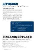 Rejs i Norden 2008 - Foreningen Norden - Page 4