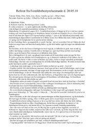 Referat fra Forældrebestyrelsesmøde d. 20.05.10