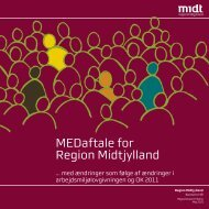 MEDaftale for Region Midtjylland