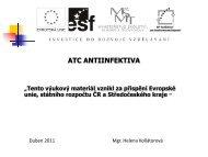 ATC antiifektiva